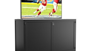 90″ Television Lift Cabinet